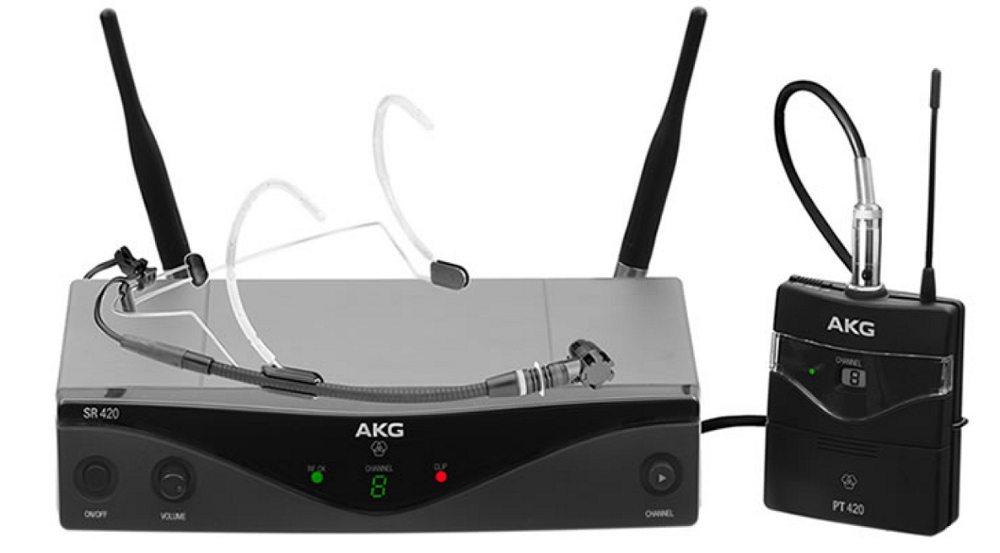 AKG WMS-420-Headset
