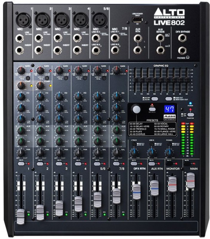 Alto Pro Live 802