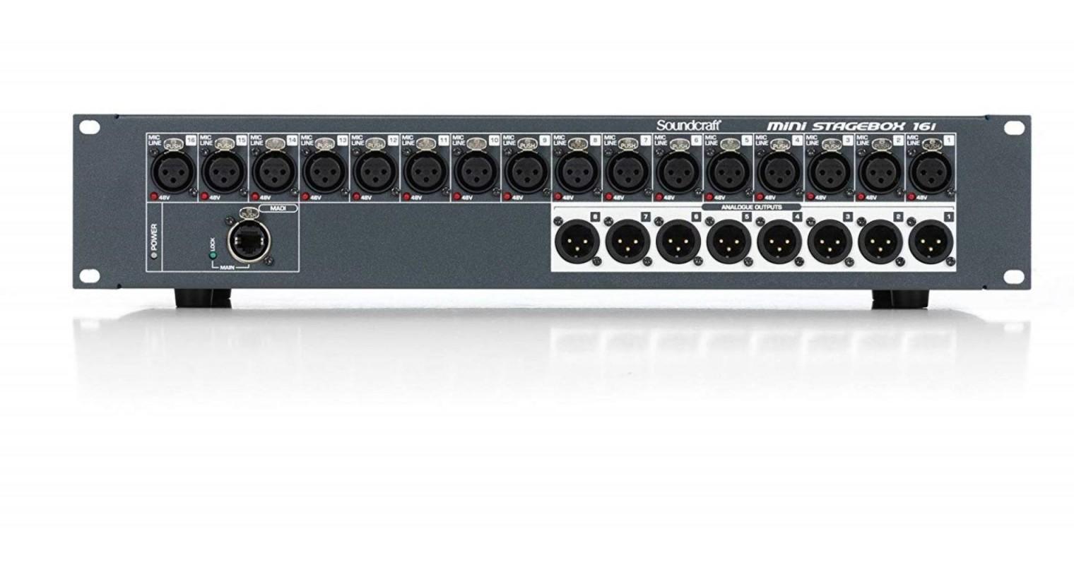 Soundcraft MSB-16i