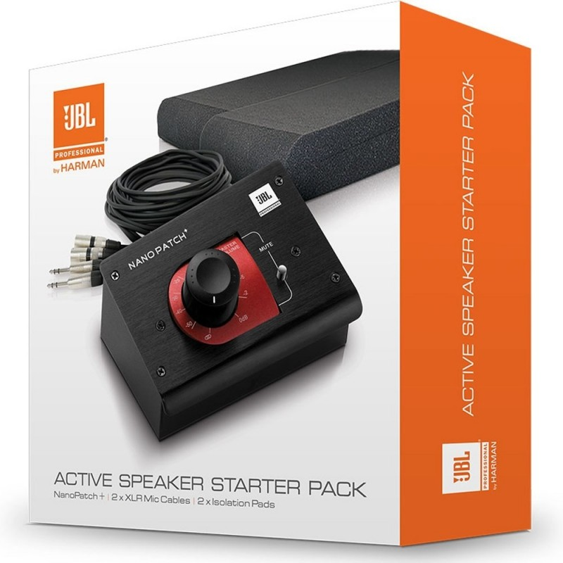 JBL Nano Patch Active Speaker Starter Set