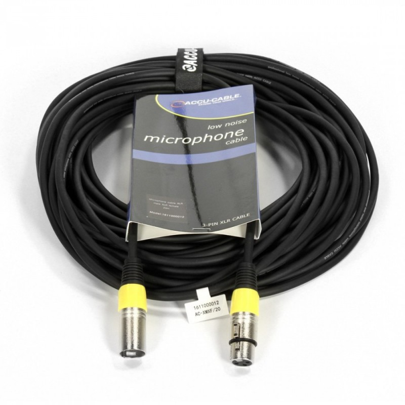 Accu-Cable XLR-XLR 20m