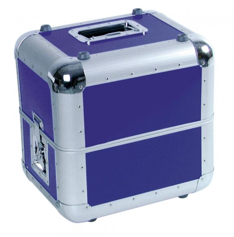 ROADINGER ALU 50/50 Record Case Blue