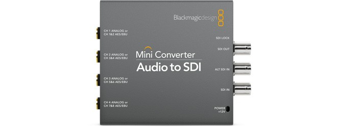 Blackmagic Audio-SDI
