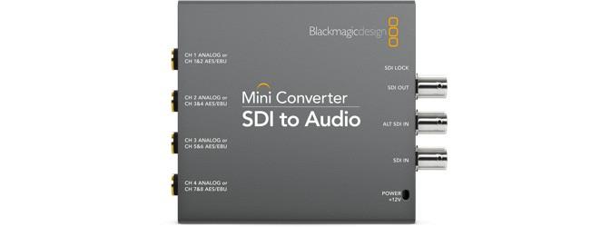 Blackmagic SDI-Audio