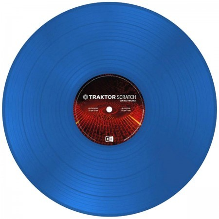 NI Traktor Scratch Pro Control Vinyl Blue MKII