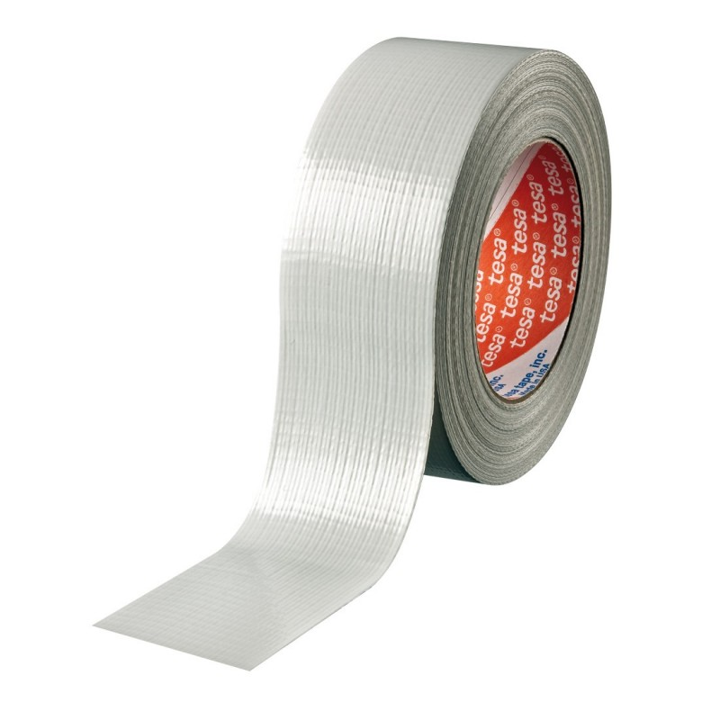 TESA Standard duct tape white