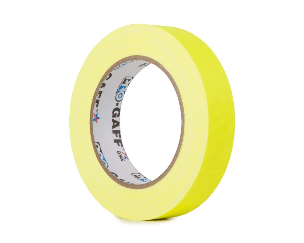MagTape Pro Gaff Fluorescent 25 Yellow