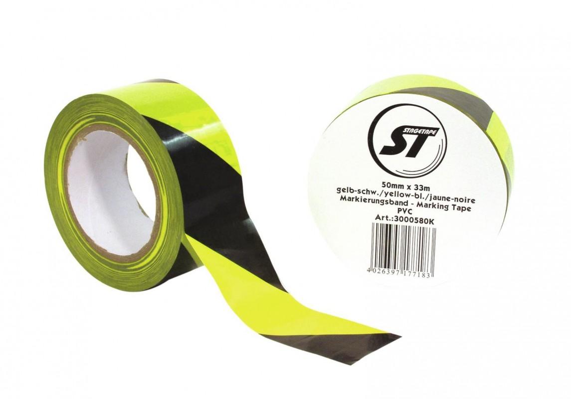 StageTape Marking Tape PVC Yellow/Black